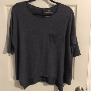 Women's American Eagle Plush T-shirt Small